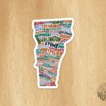 Vermont Towns Sticker
