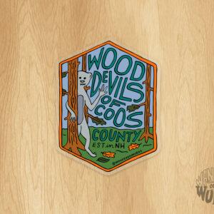 Wood Devils Sticker