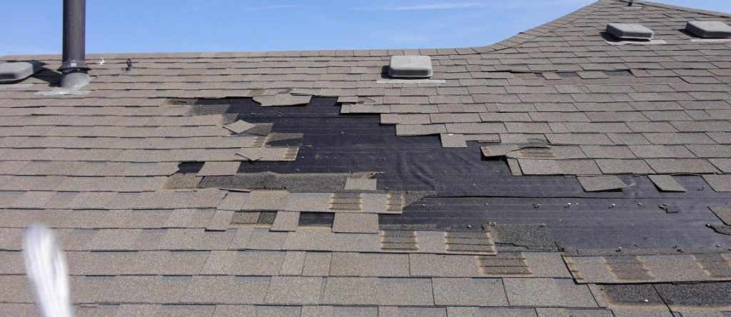 shingles blowing off