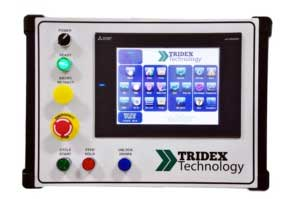 Operators Panel with Color Touch Screen Simple User Interface