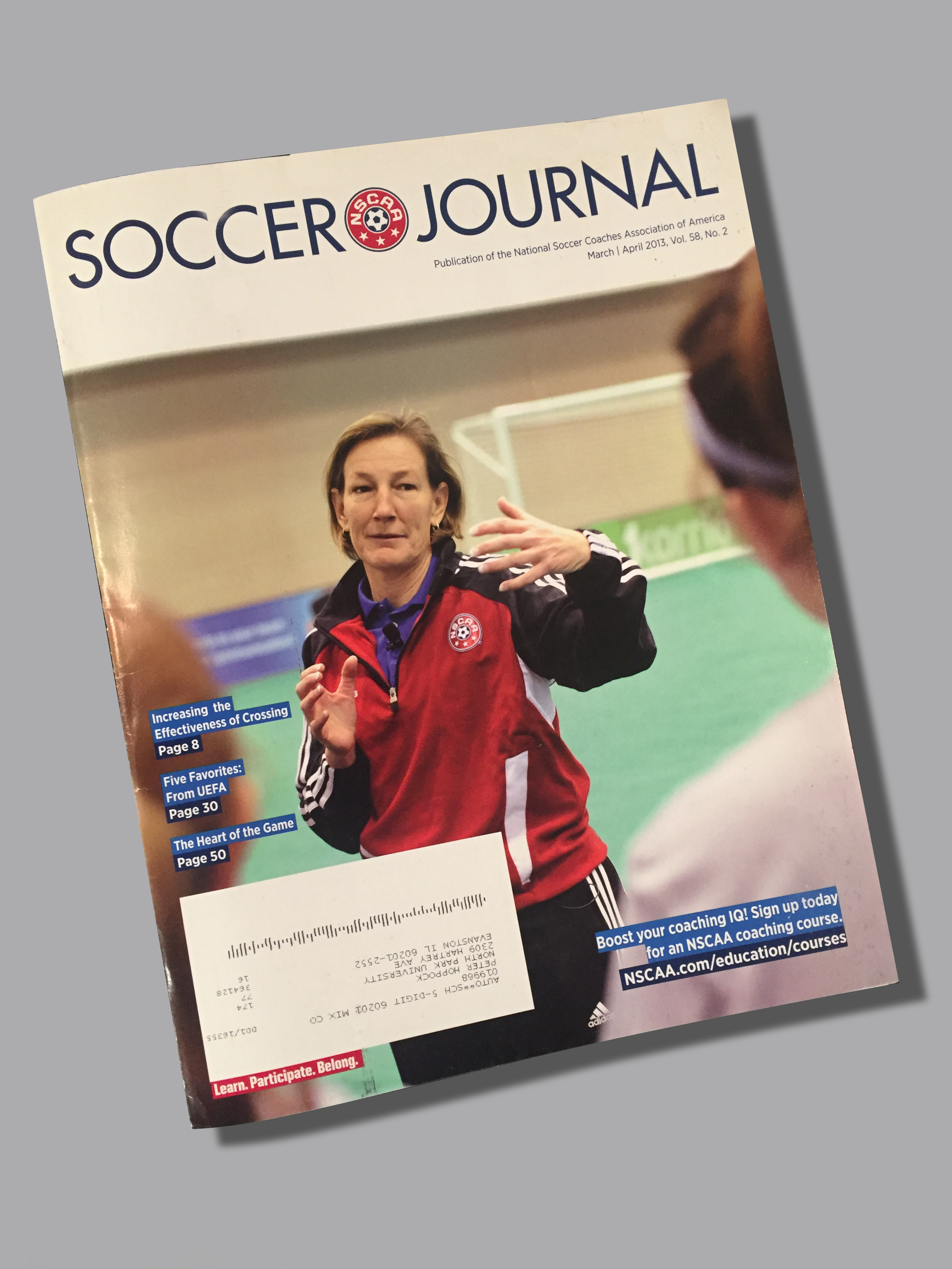 article soccer coaching