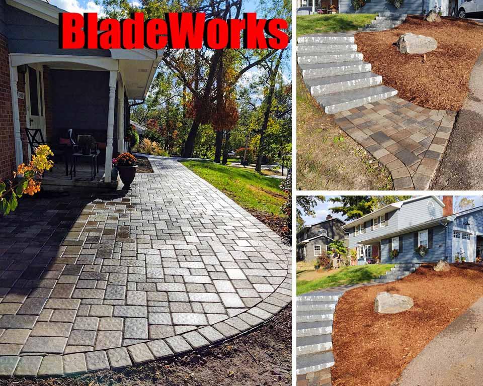 BladeWorks Patios, Stairs, Landscaping