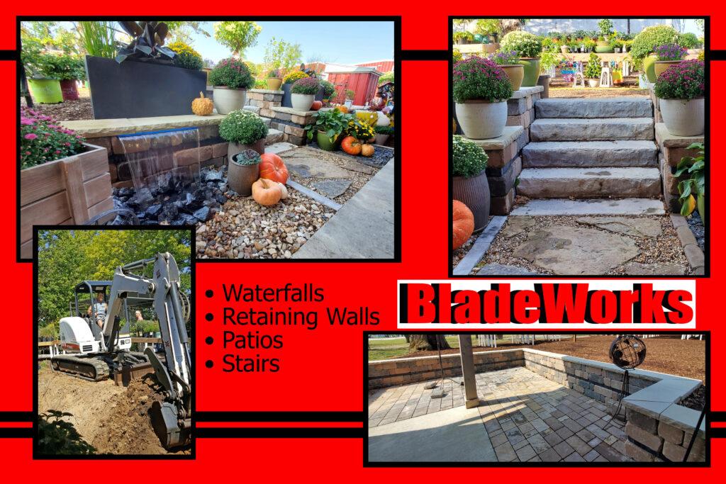 BladeWorks Landscaping Retaining Walls