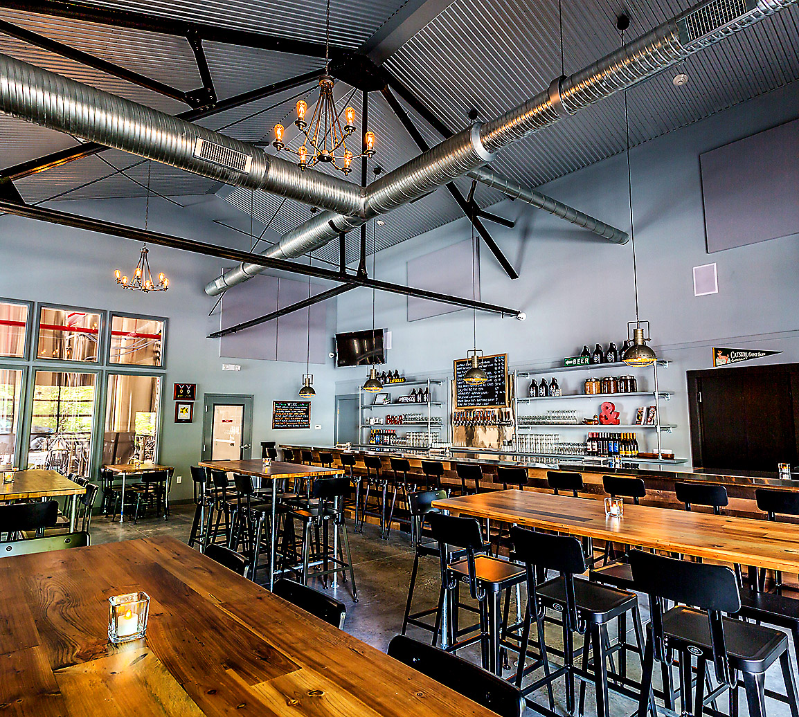 Catskill Taproom Interior