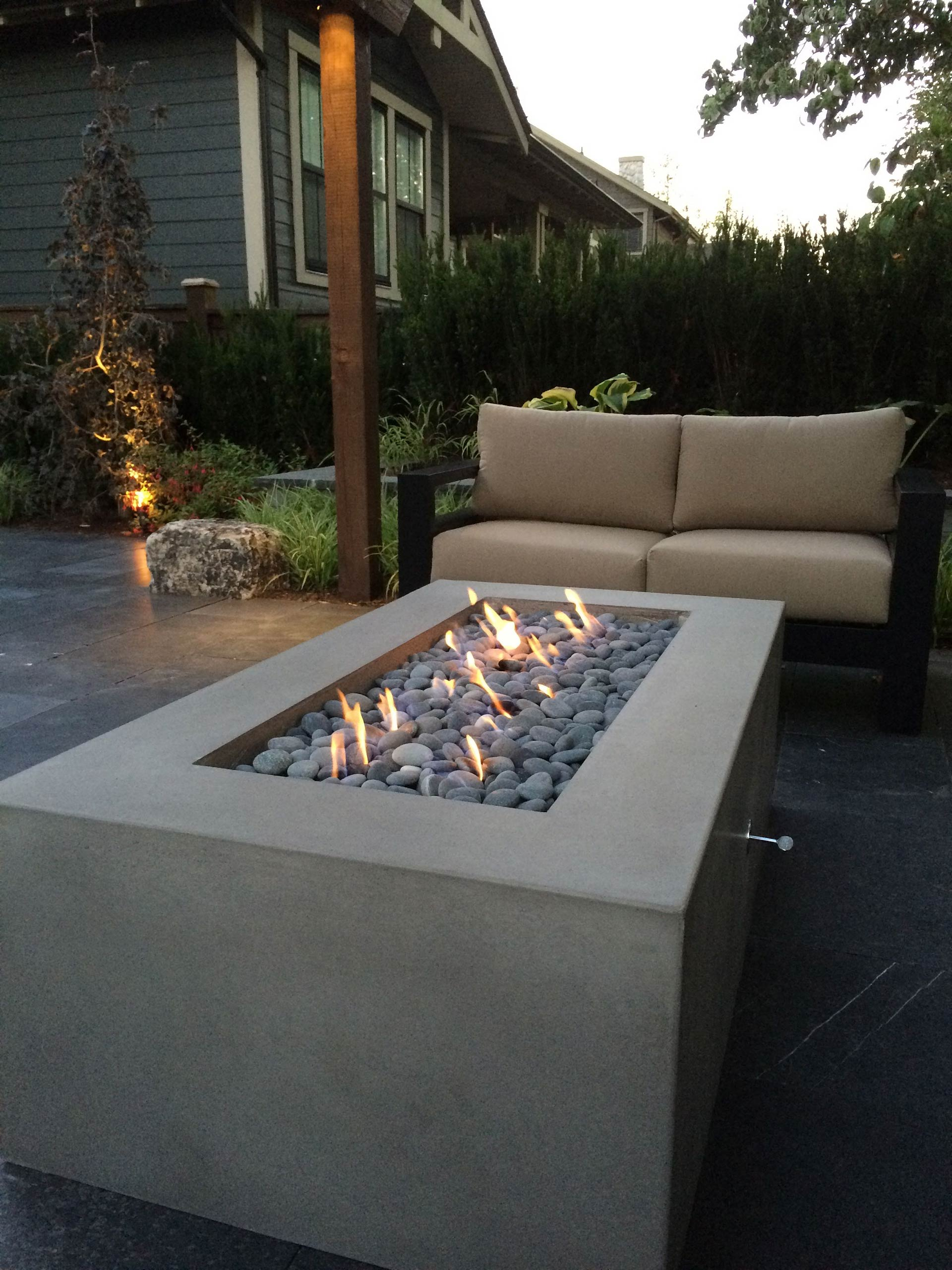 Patio Fire Feature