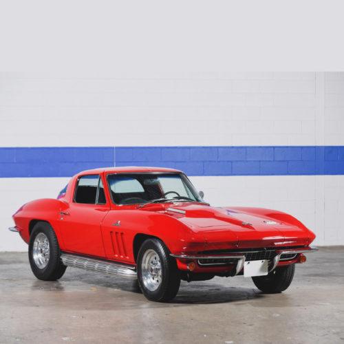 1966 Corvette Sting Ray Red