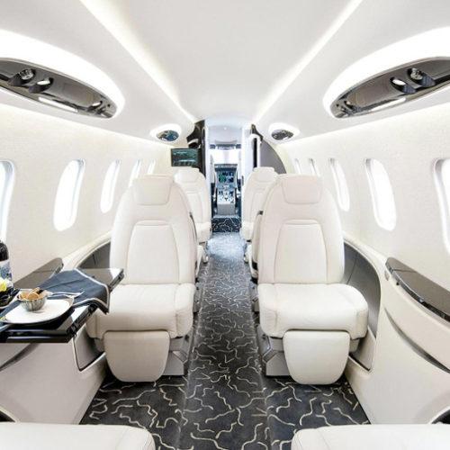 Valley Jet interior