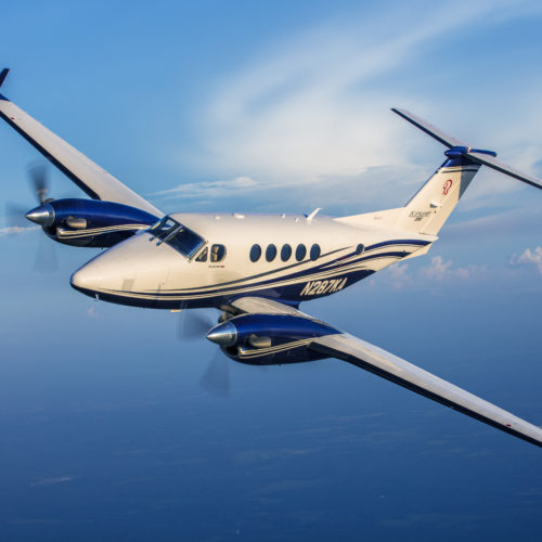 Turboprop Charter King Air