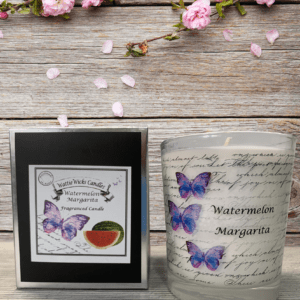 watermelon margarita scented candle