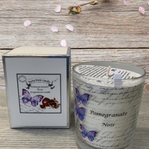 pomegranate noir scented candle