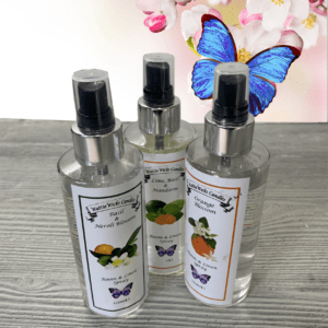 Floral room and linen mists