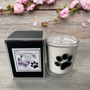 Doggone candle