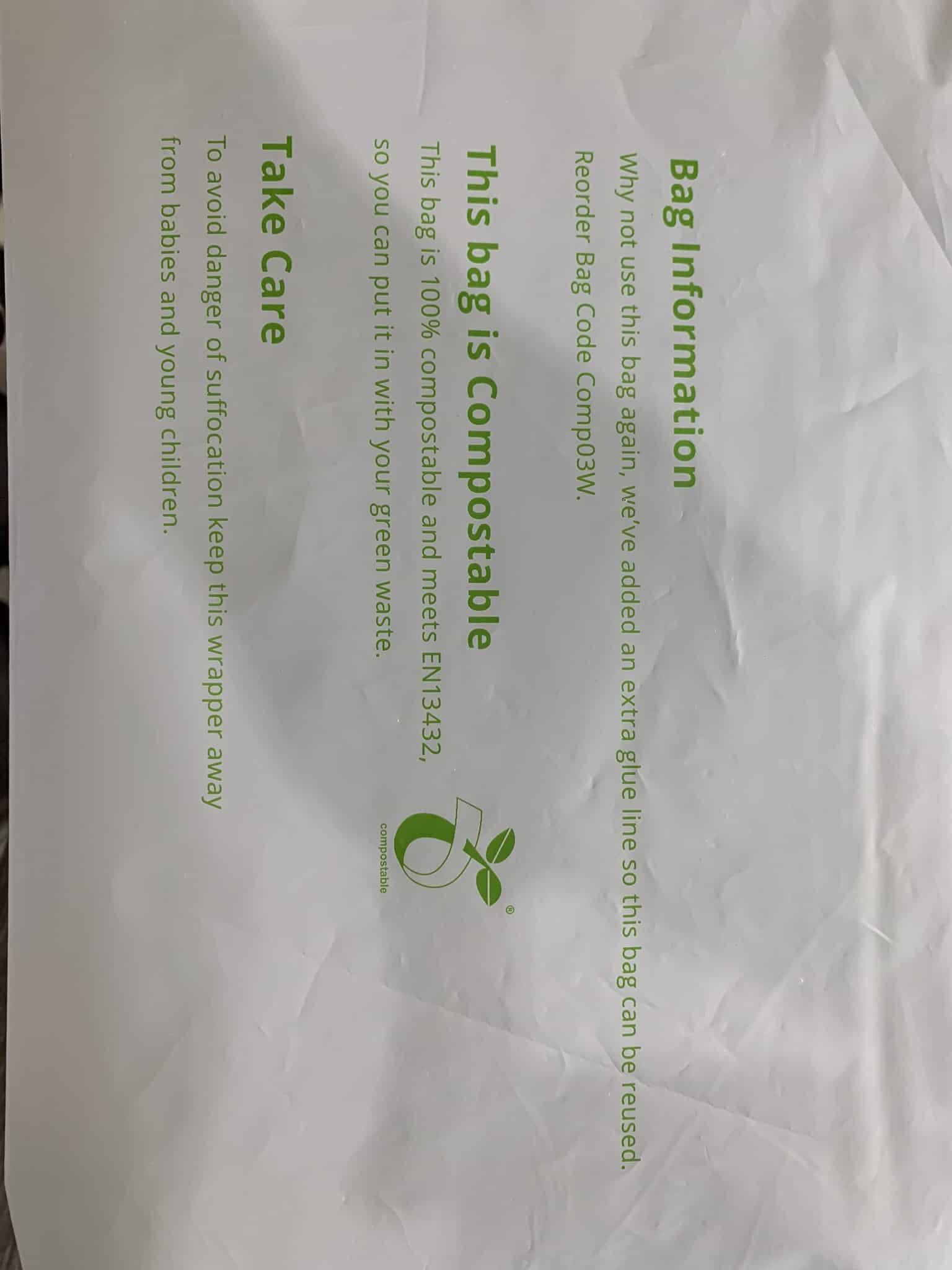 compostable postal bags