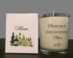 Bespoke candle for mother of the bride