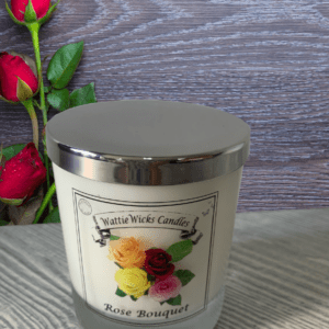Triple fragranced candles