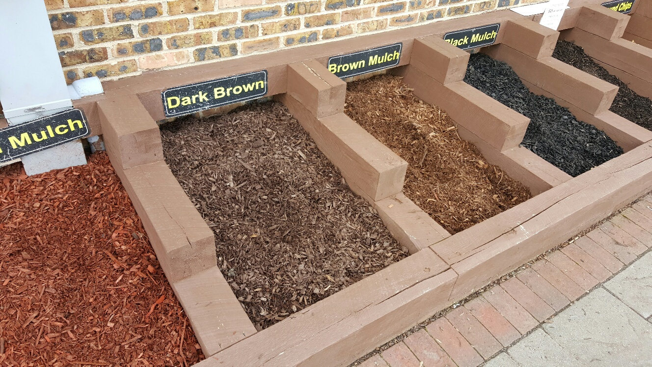 Mulch Sample Bins