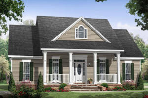 Country House Plan 348