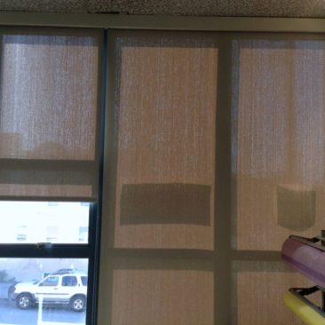roller shades for Baltimore City Schools