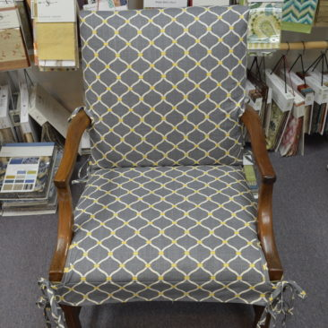Chair Reupholstery in Millersville, MD workroom