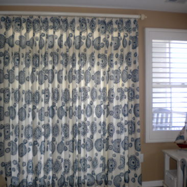drapery panels for sliding glass door in Ocean City, MD