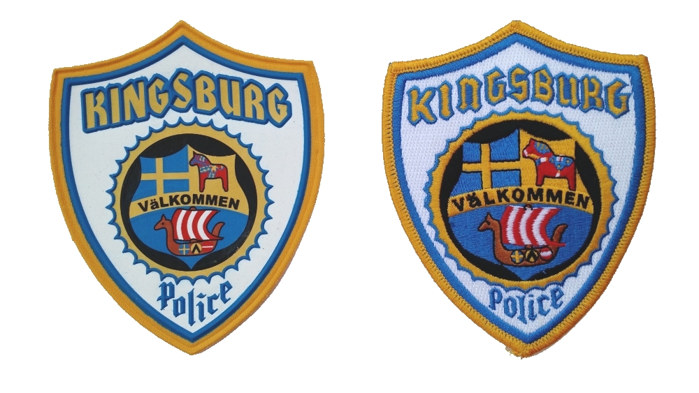 Kingsburg Police Patch