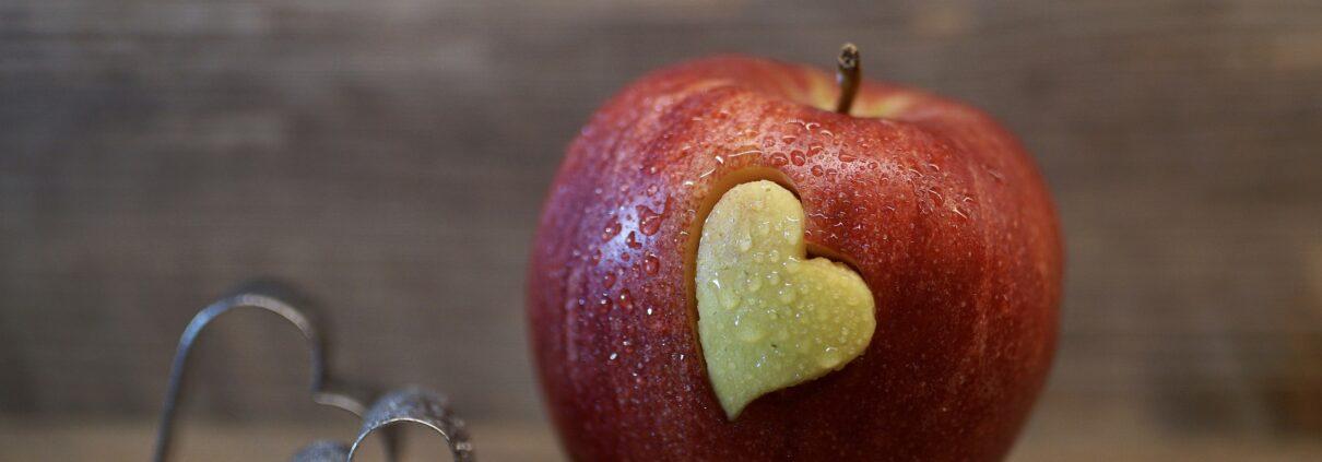 fruit heart