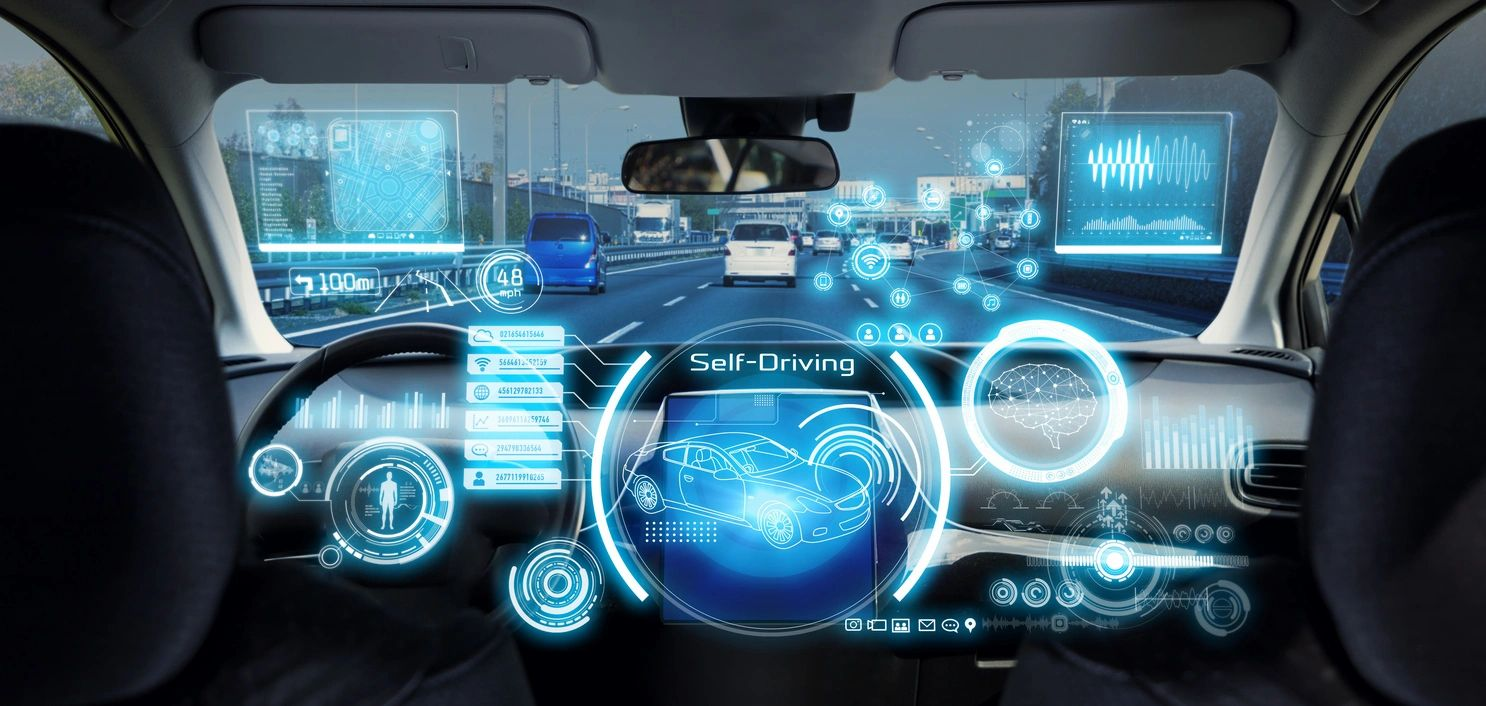 auto drive dashboard