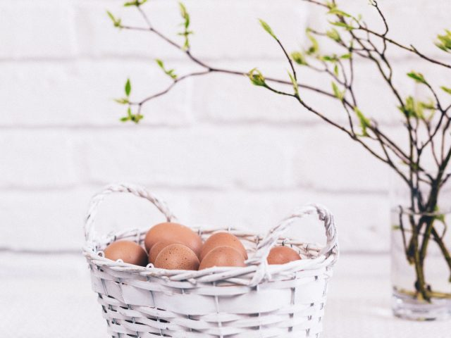 Karen Bates ~ Egg Salad and Easter Sunday: Preaching the Messiness of Hope