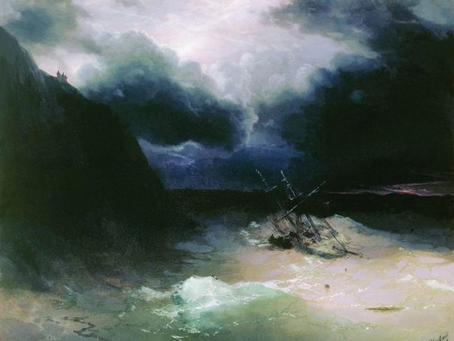 Andy Stoddard ~ From the Storm to the Shipwreck
