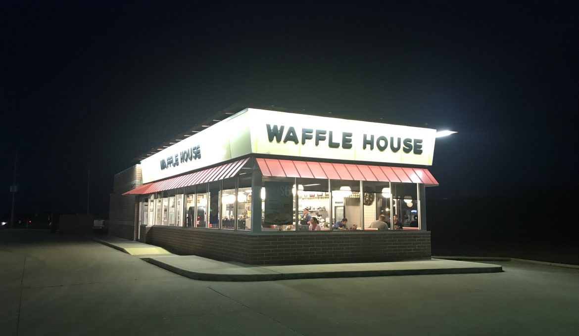 Omar Al-Rikabi ~ Being a Waffle House Church in the Storm
