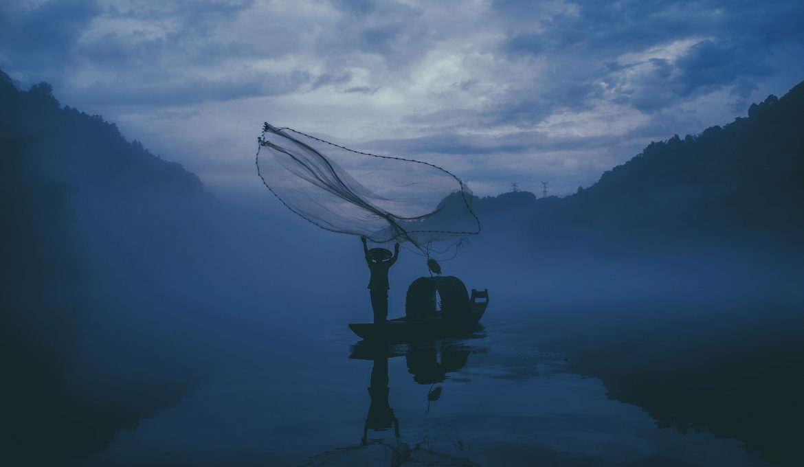 Edgar Bazan ~ Fishing through the Disappointment of Empty Nets