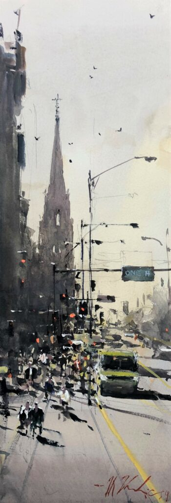 Art Of Watercolor: Joseph Zbukvic on plein air