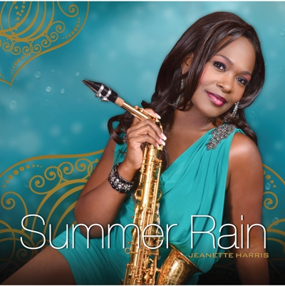 Jeanette Harris Summer Rain CD cover