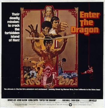 ENTER THE DRAGON, 1973.