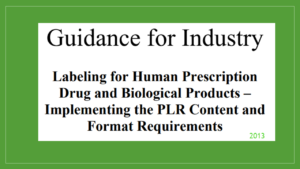 FDA Guidance for Industry 2013