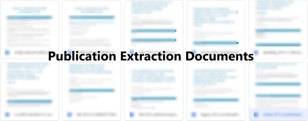 Publication Extraction Documents