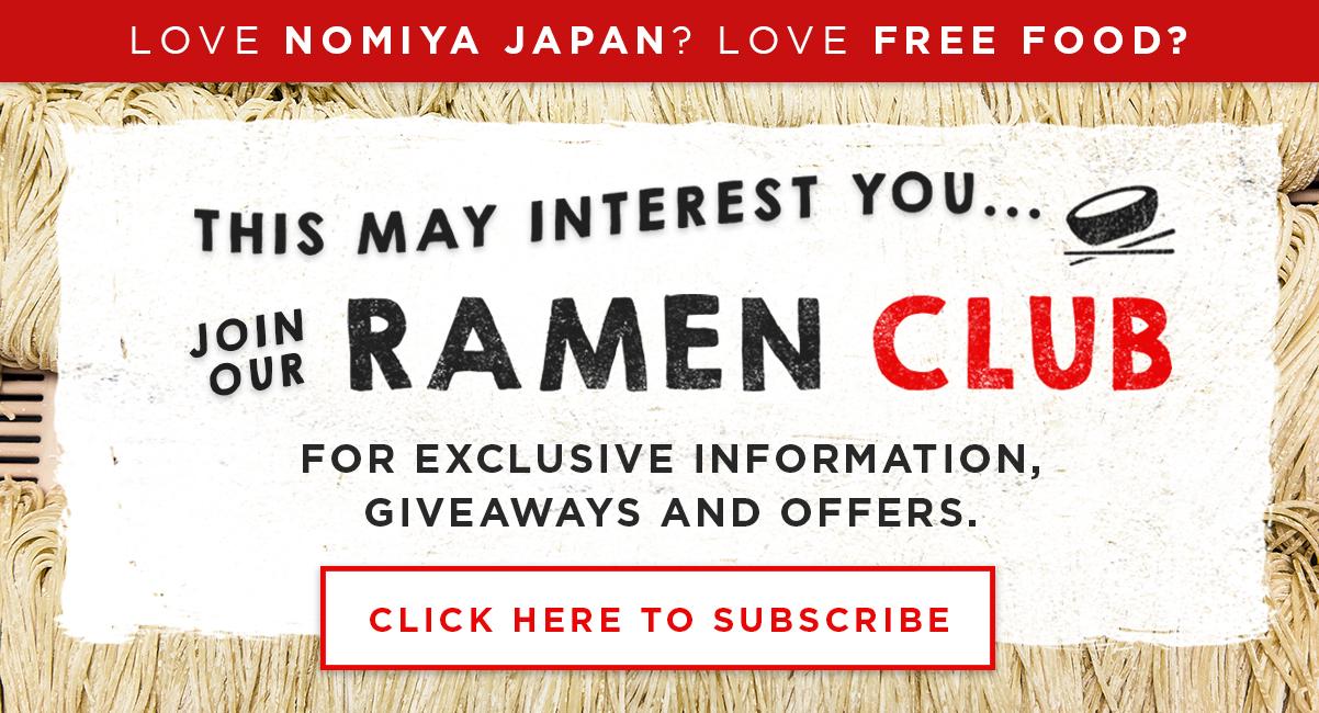 Nomiya Japan Ramen Club Edmonton