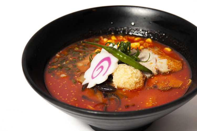 Spicey garlic miso ramen (1)