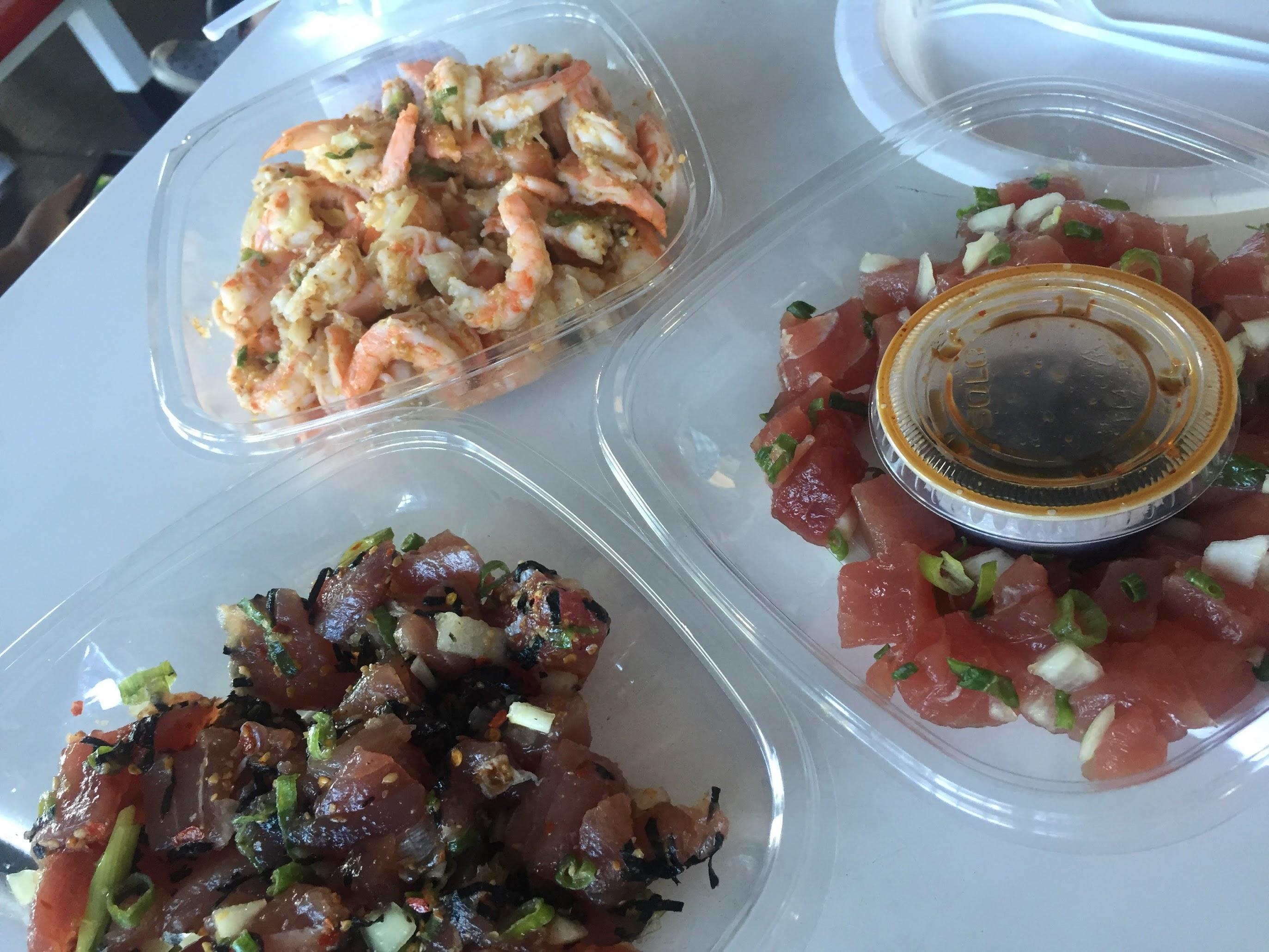 nomiya restaurant hawaii trip poke