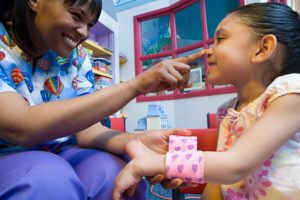 Avail Home Care Pediatric Care - Smiling Nurse and Child