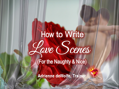 Romance Novel Writing Course, Self-Paced Video Writing Course, Online Class for Novels, Learn to write Romance, Adrienne deWolfe