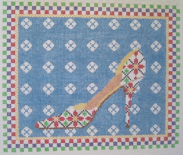 Christmas Waltz Needlepoint Canvas
