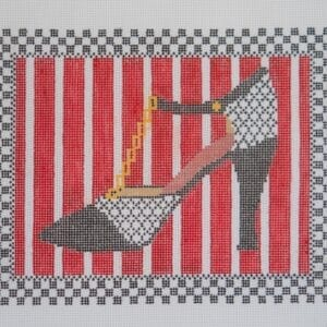 oh so coco needlepoint shoe canvas
