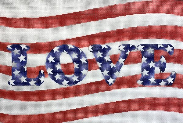 love american style canvas