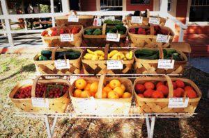 pesticide free vegitables