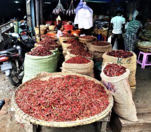 spice market in Indonesia