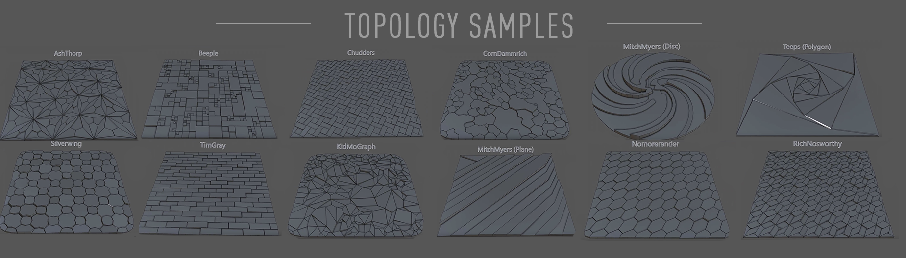 Topoformer Plugin Type Options by Merk for Cinema 4D
