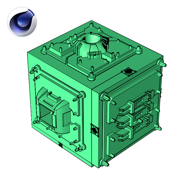 Poly Greebler Plugin Icon by Merk for Cinema 4D