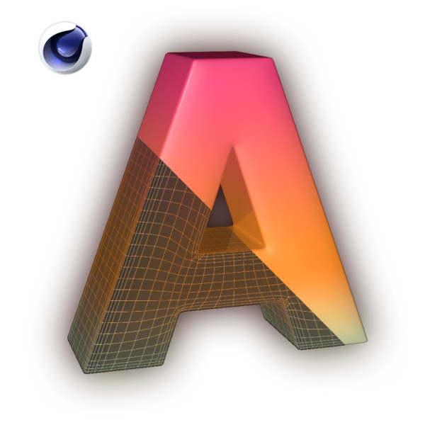 Model Font Cinema 4D Plugin Icon