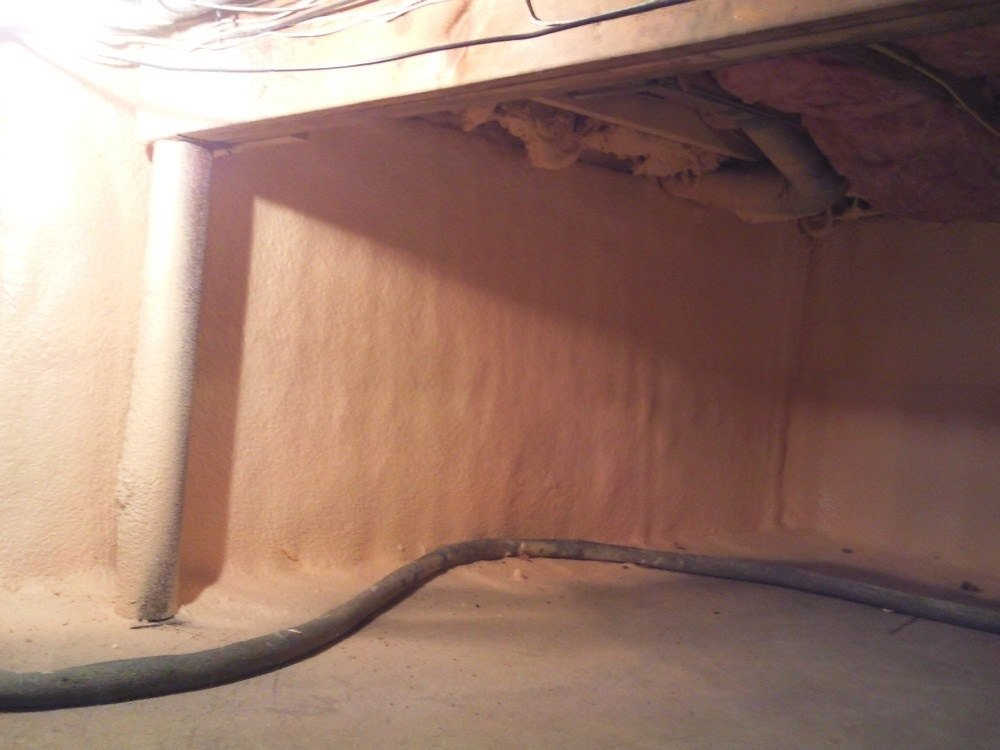Crawl space walls